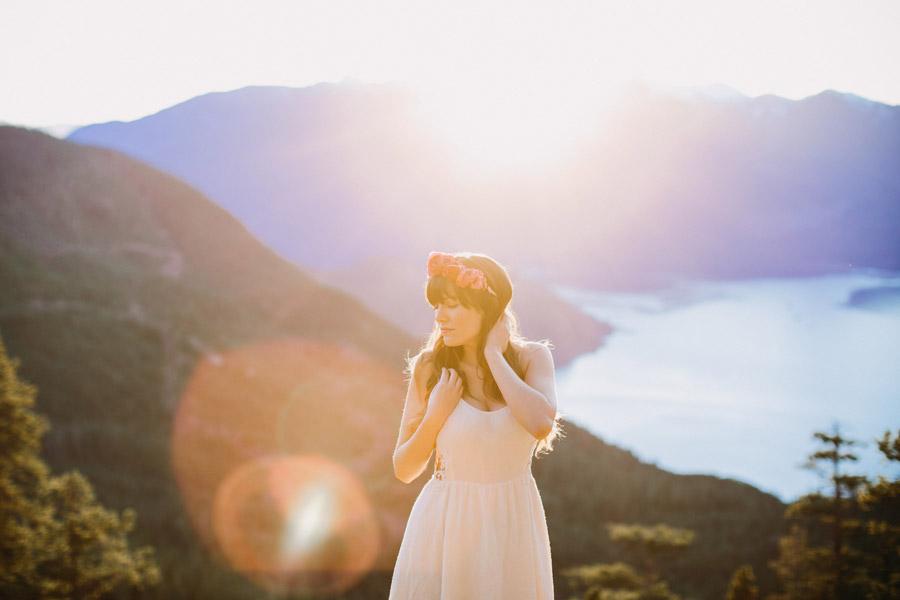 Squamish Bridal Portrait