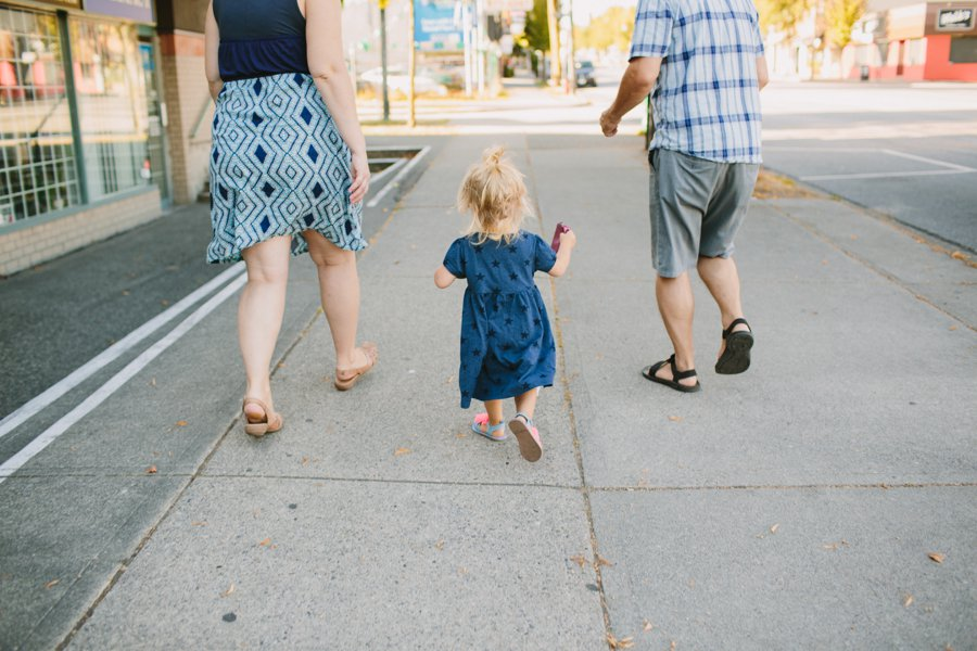 Main Street Family Portrait Session Vancouver