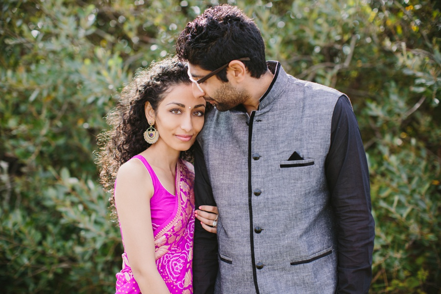 Indian Bride and Groom Engagement Session Richmond