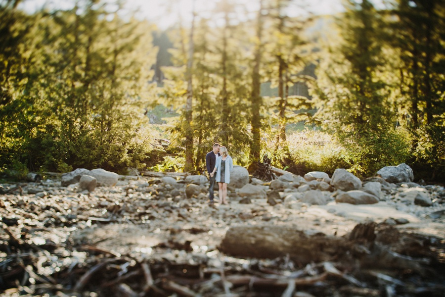 Westcoast Forest Couples Session