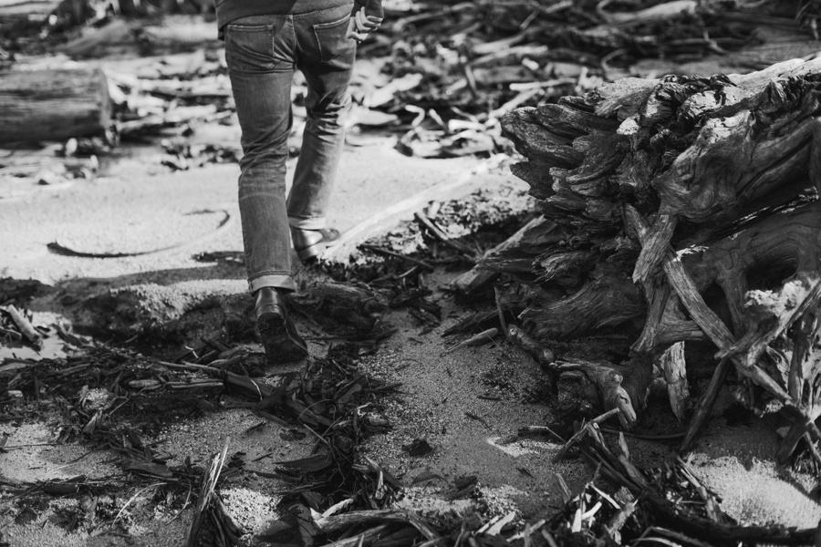 Walking through Driftwood
