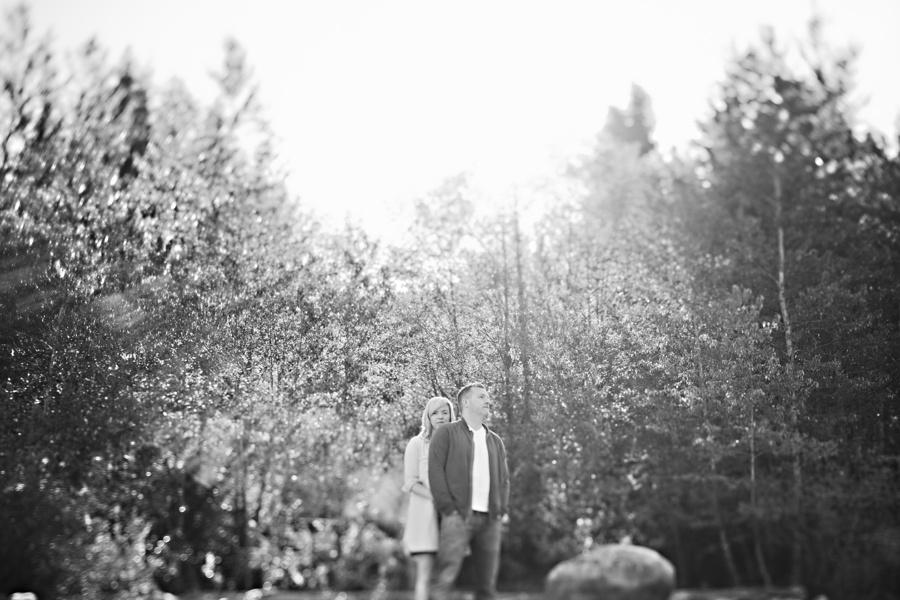 Tilt Shift Portrait in Westcoast Forest