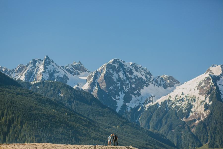 Jones Lake Mountains