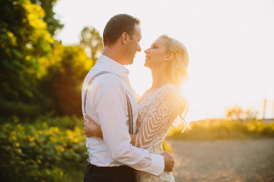 Golden Hour Engagement Portraits