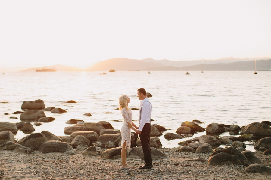 Vancouver Sunset Engagement