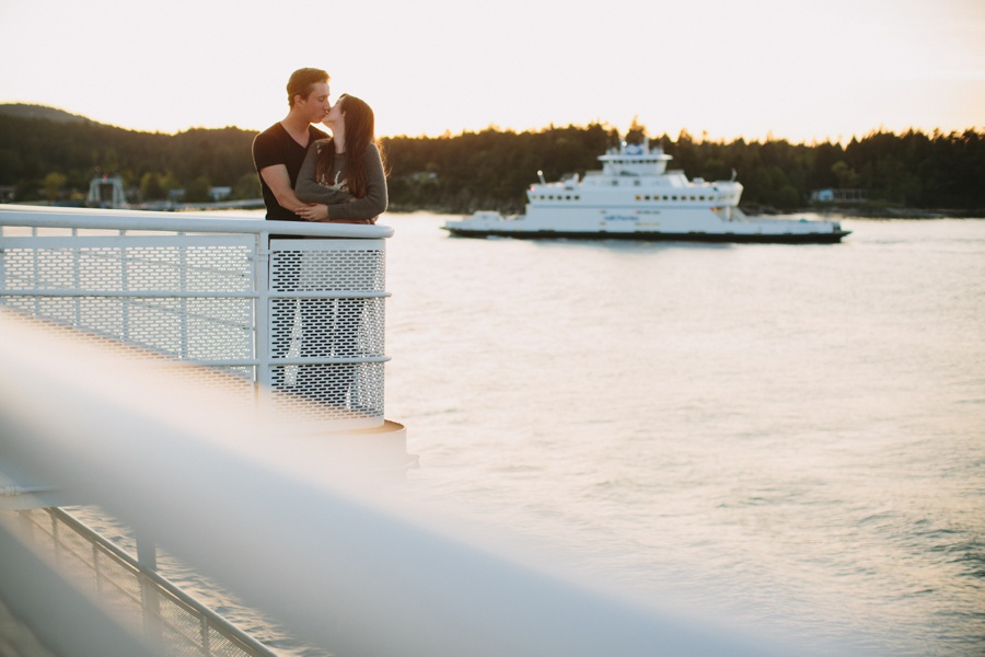 BC Ferry Engagement Session