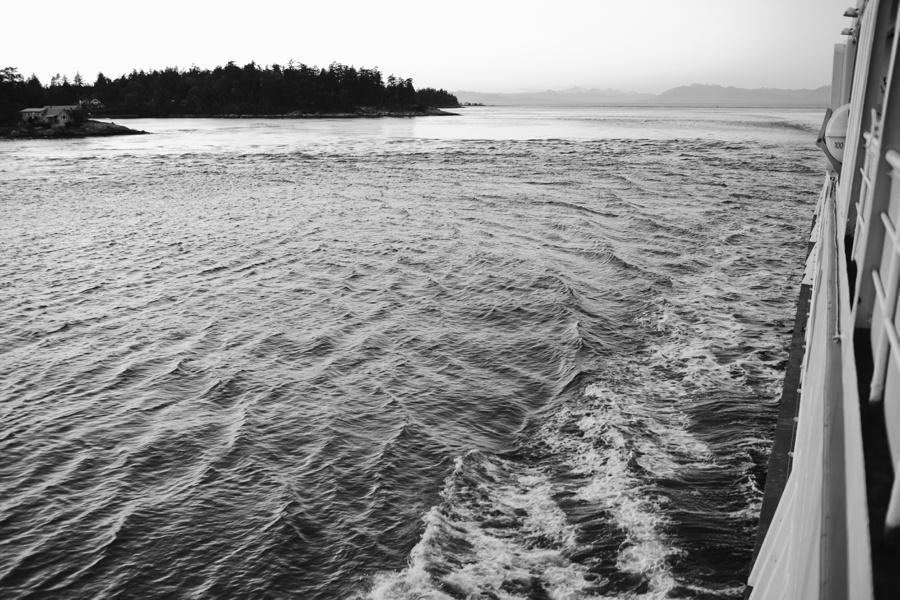 BC Ferry Wake
