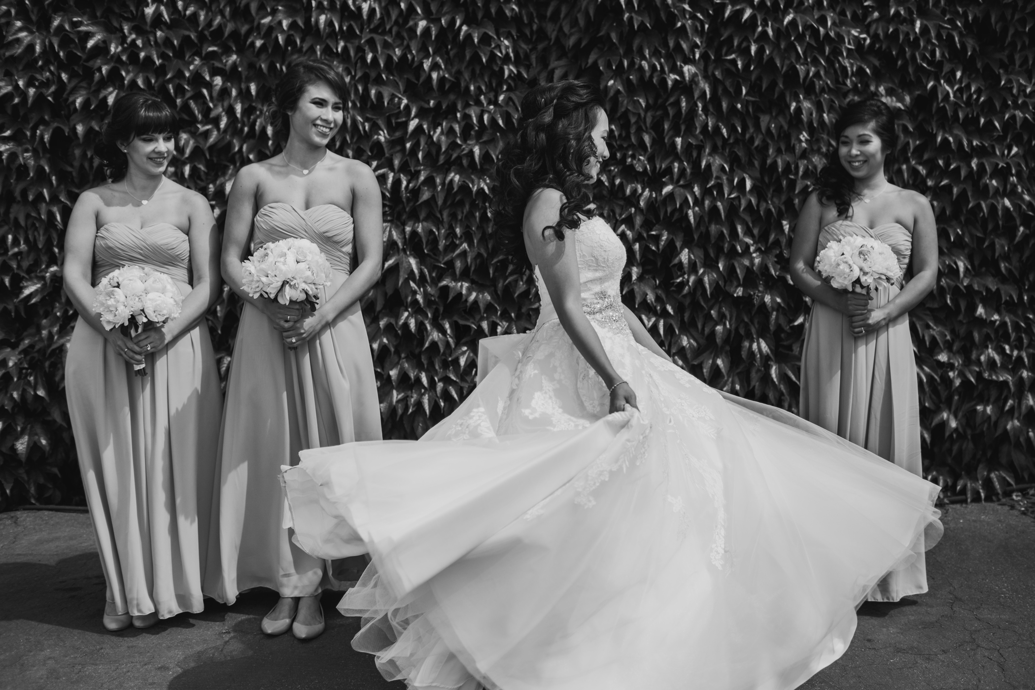 Olympic Village Bridal Portrait