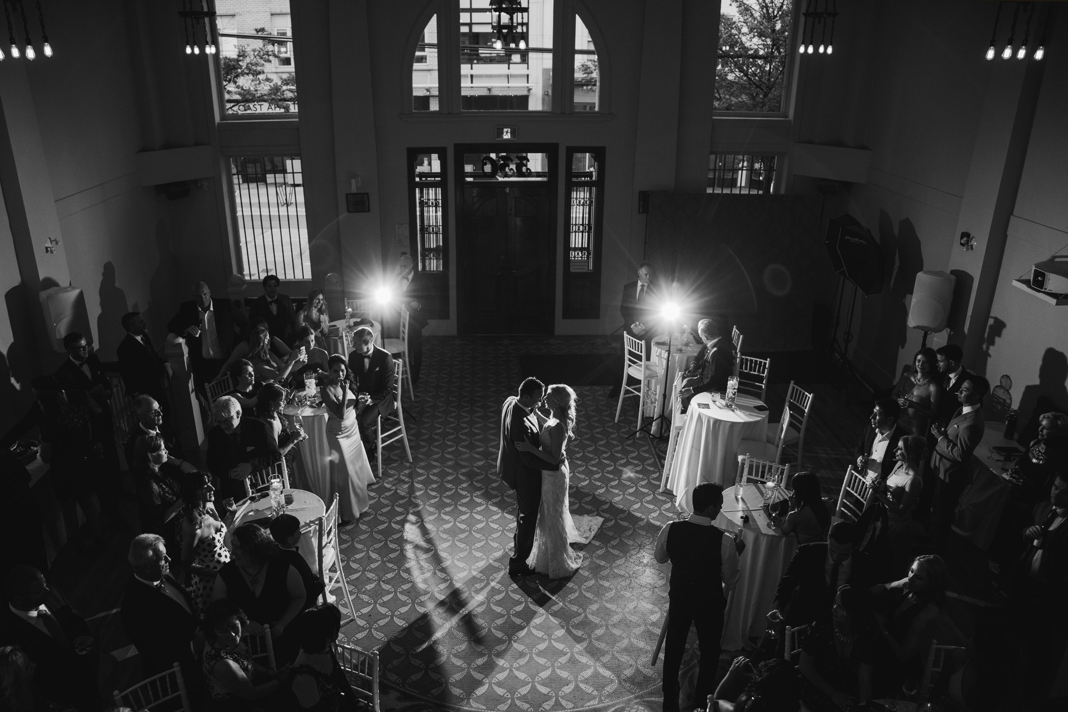 First Dance at The Permanent Vancouver