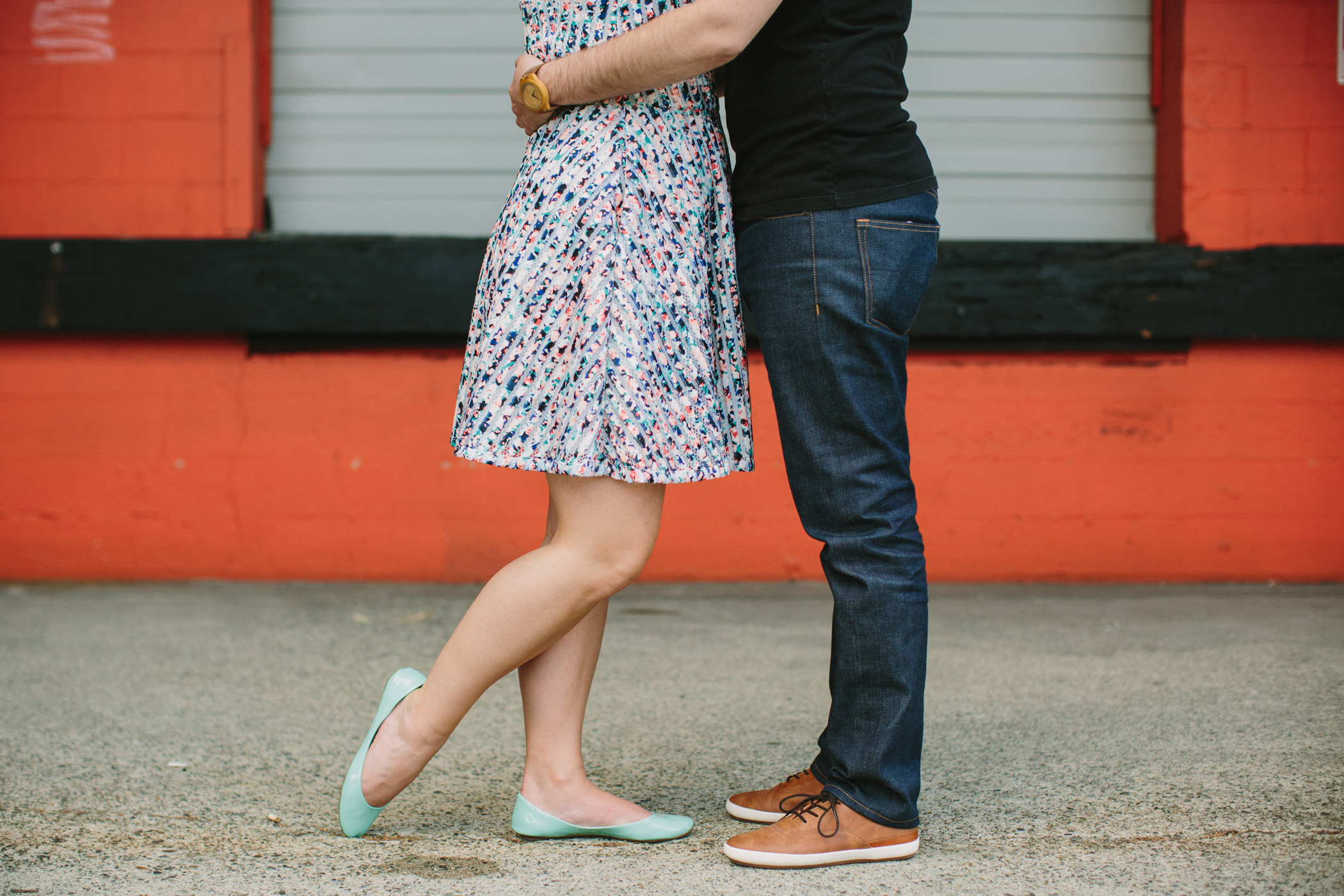 Colourful Vancouver Engagement Photography