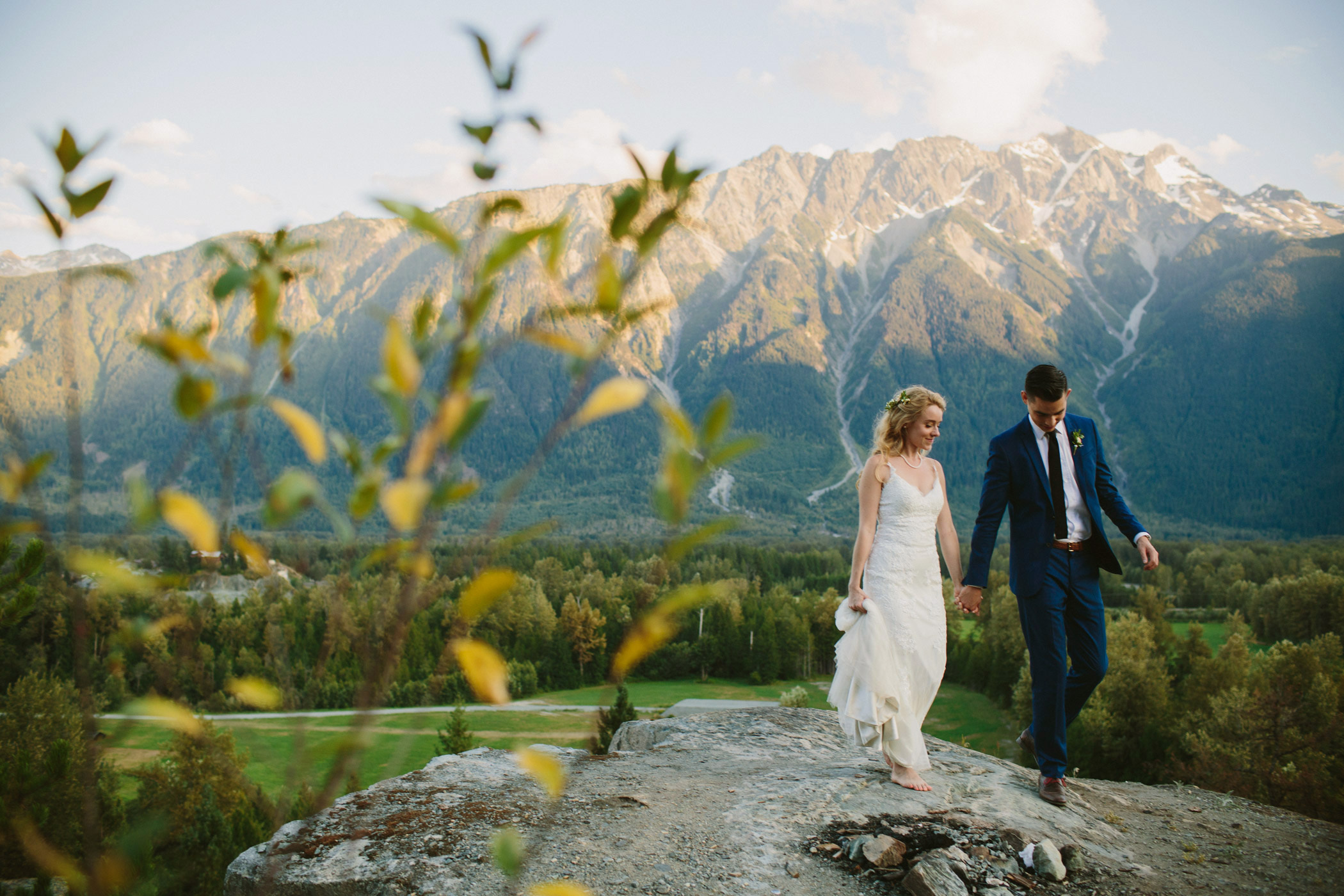 Pemberton Bride and Groom