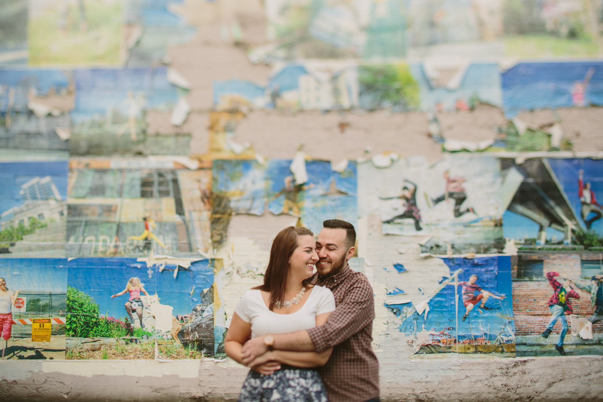 Gastown Engagement Portrait