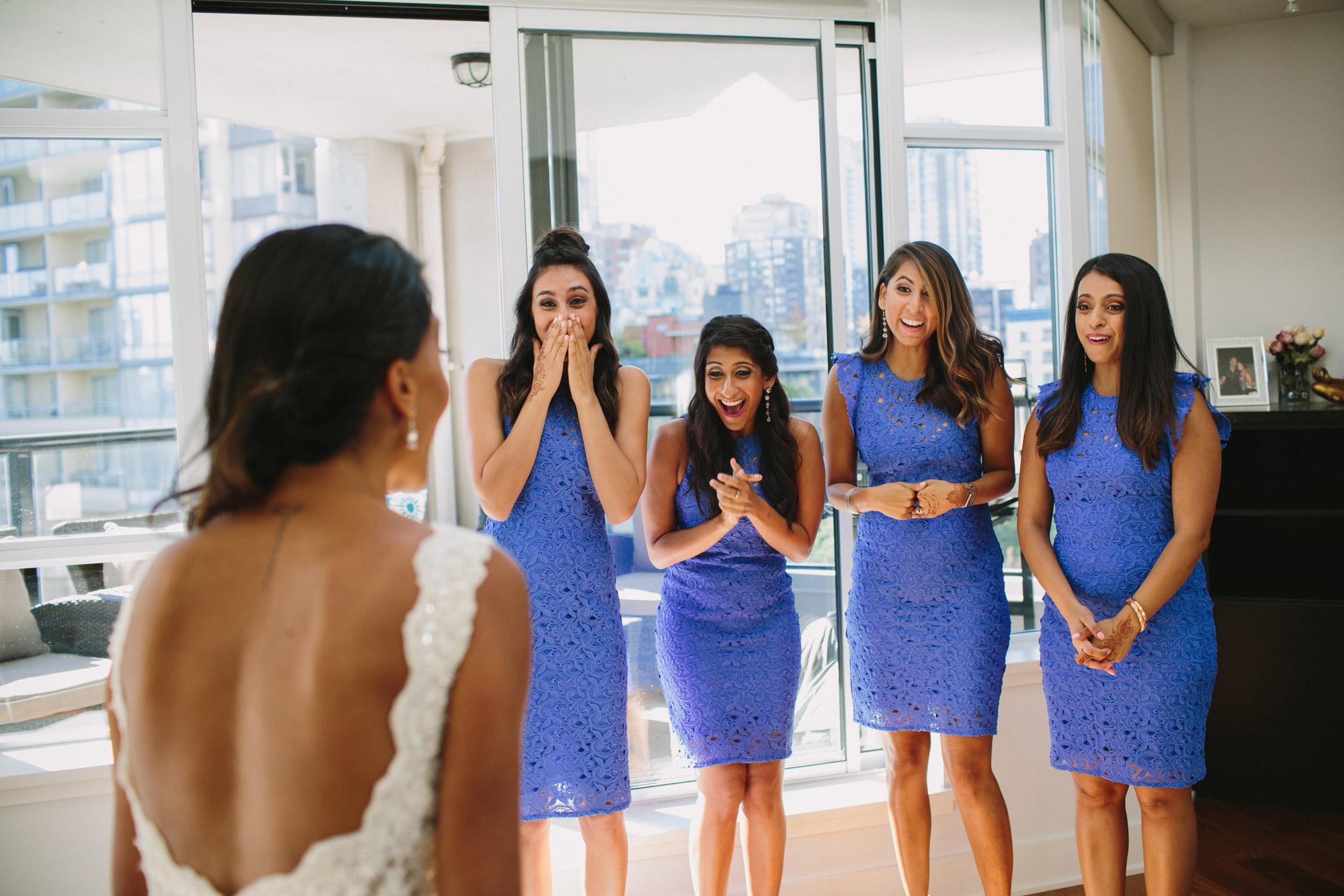 Vancouver Bridesmaids First Look