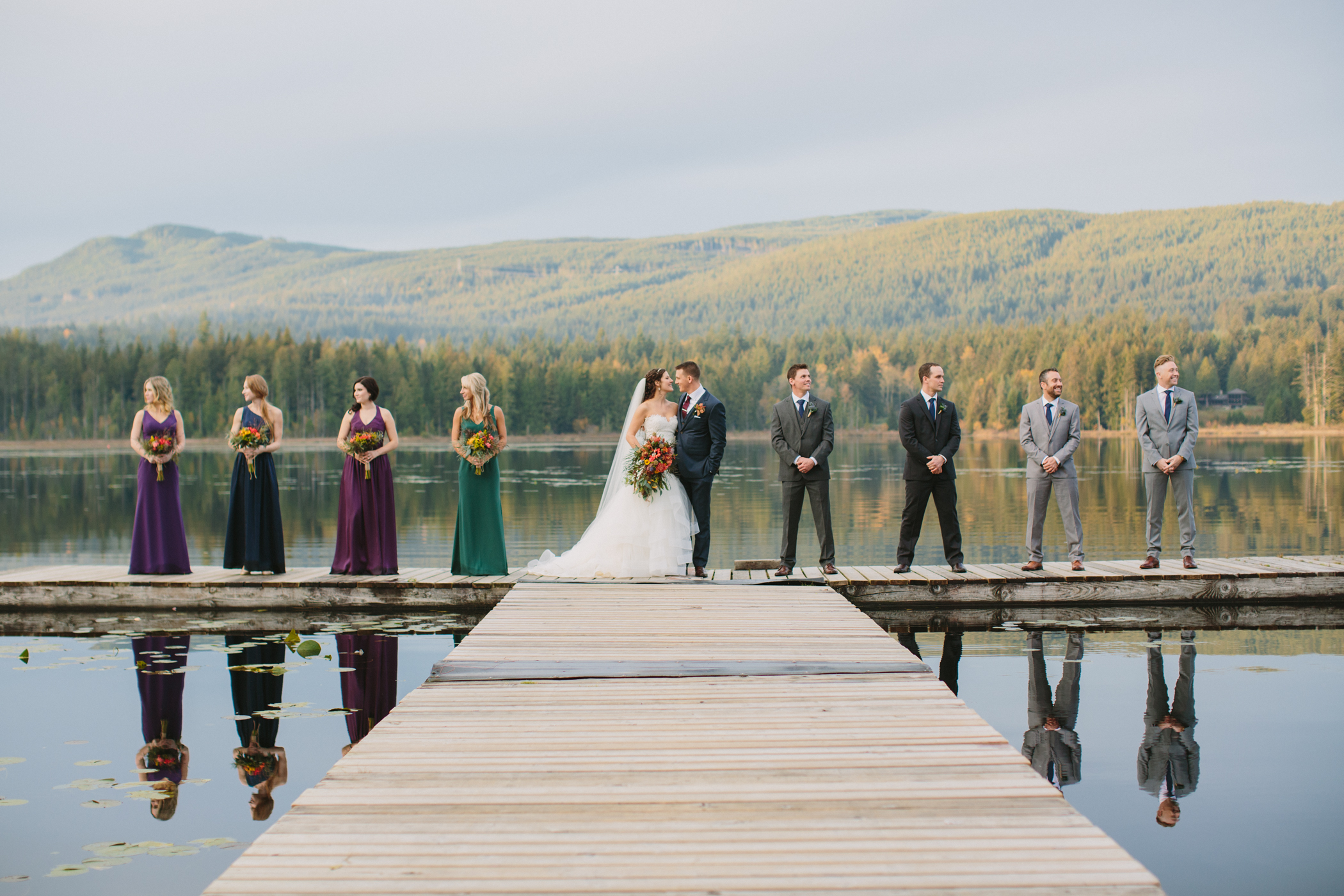 Whonnock Lake Bridal Party