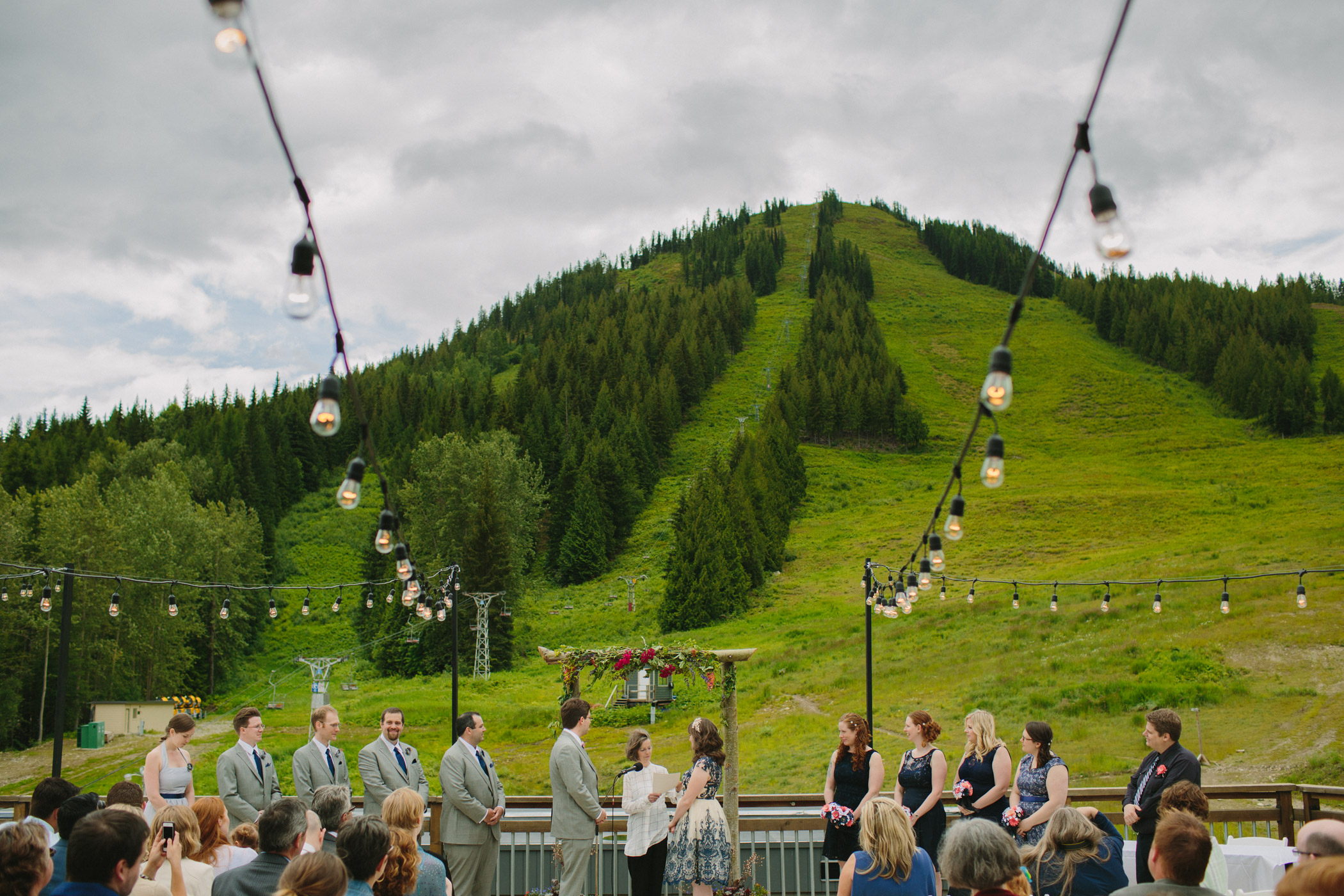 Red Mountain Wedding Ceremony