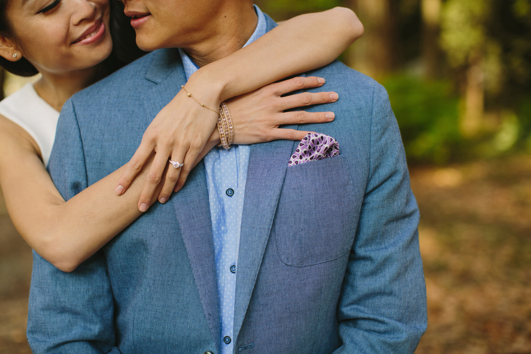 Stanley Park Engagement Session Detail