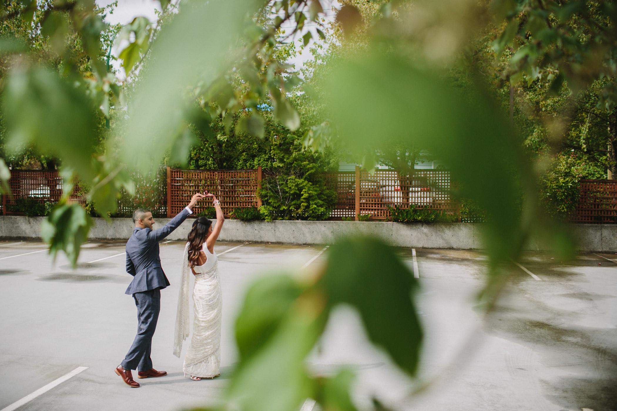 Vancouver Ismaili Wedding Portrait