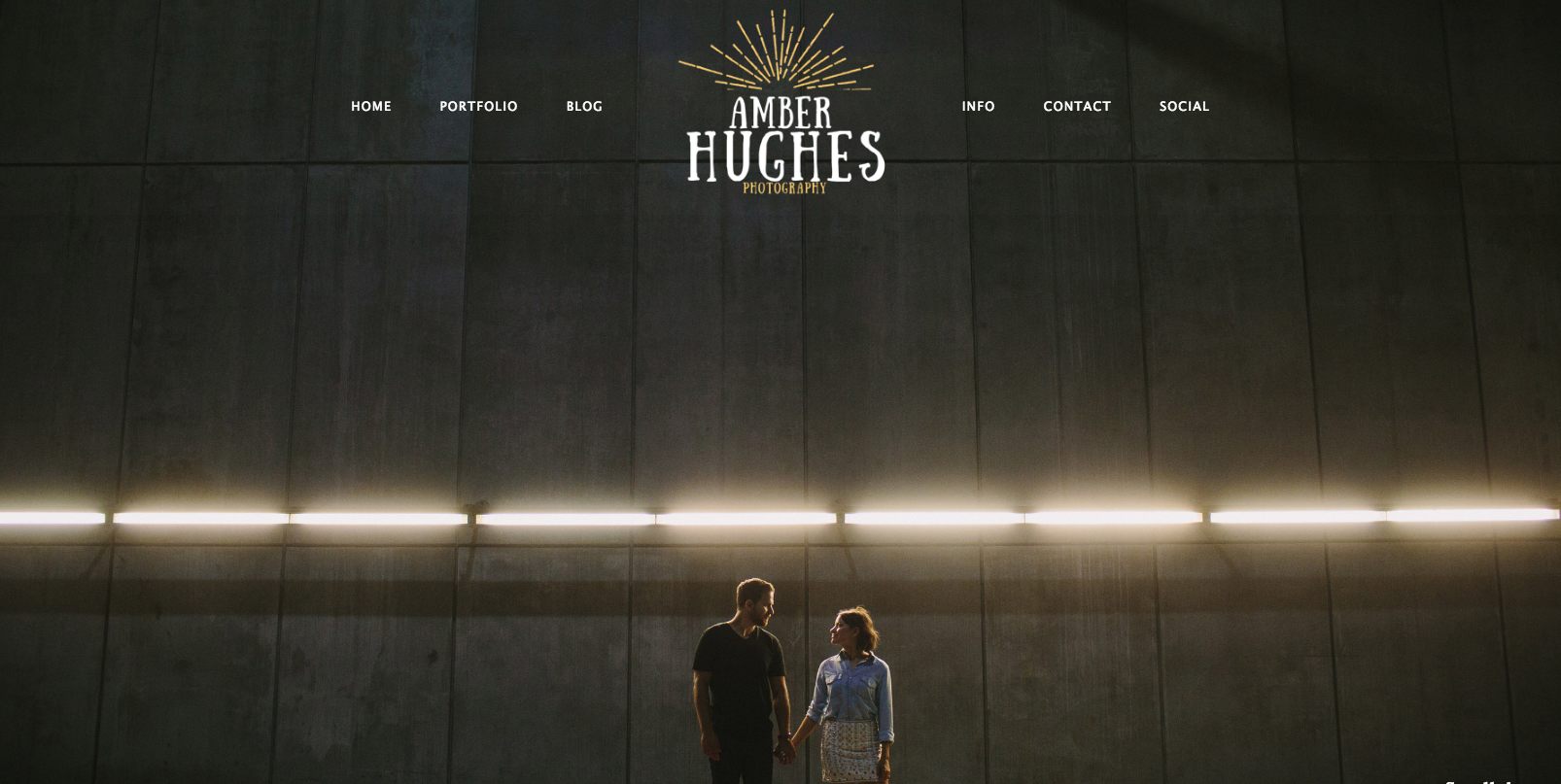 Amber Hughes Photography New Website