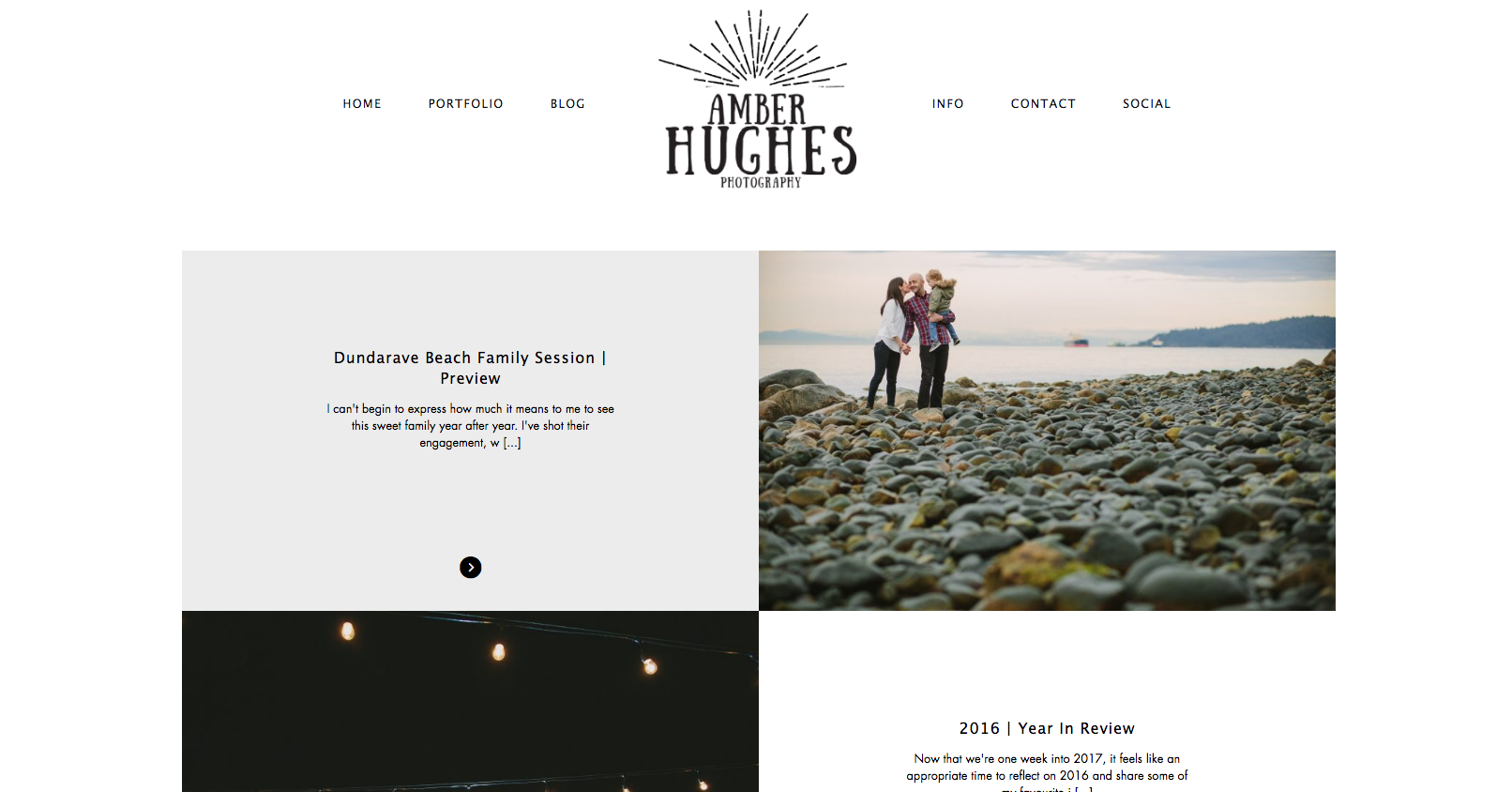Vancouver Wedding Photographer Amber Hughes Website
