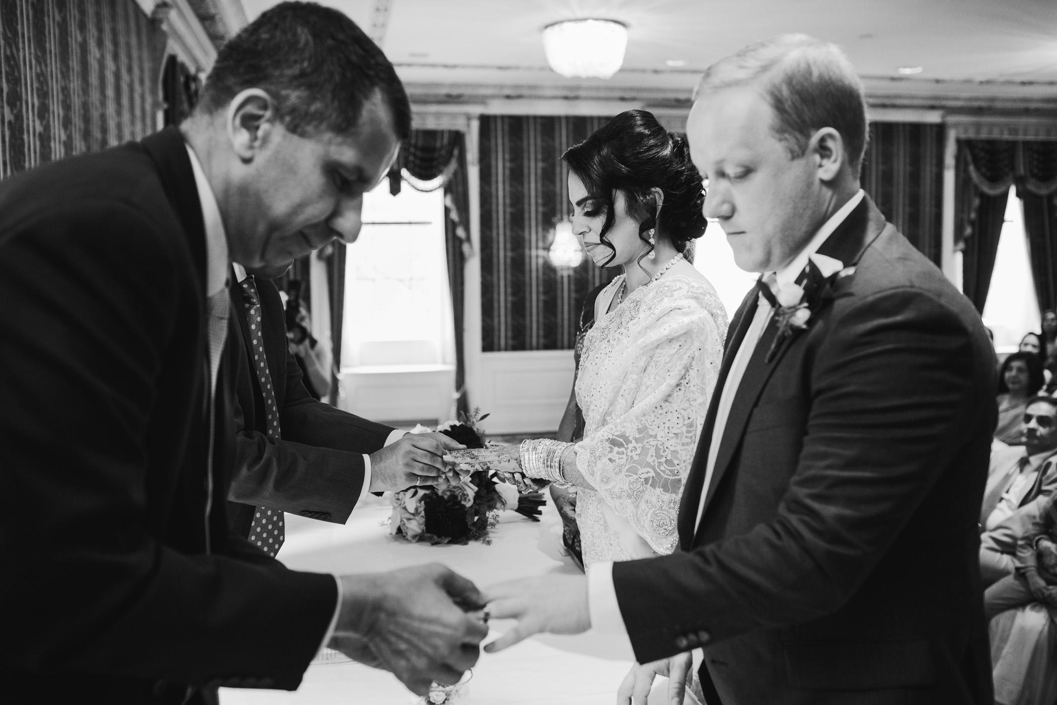 Fairmont Hotel Vancouver Ismaili Wedding Ceremony
