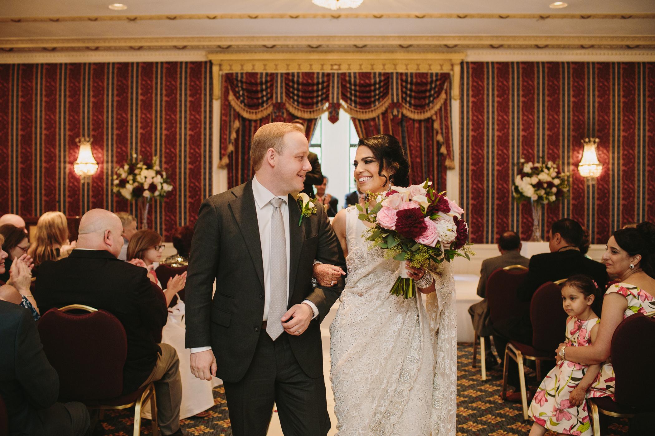 Ismaili Bride and Groom