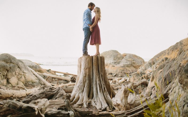 Lighthouse Park Engagement Session