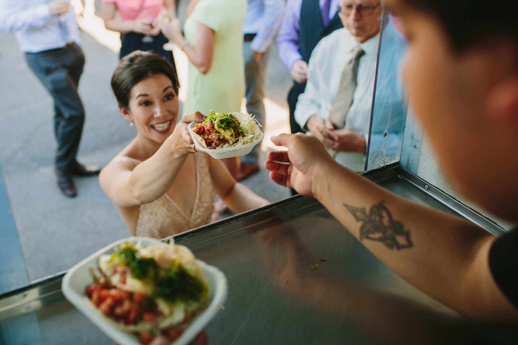 Wedding Tacos at 100 Braid Street Studios