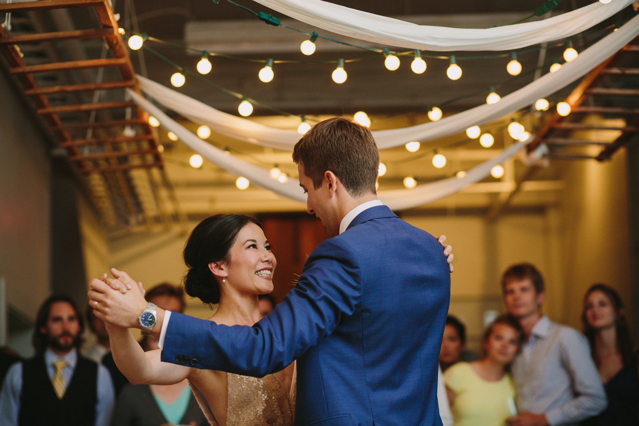 First Dance at 100 Braid Street Studios