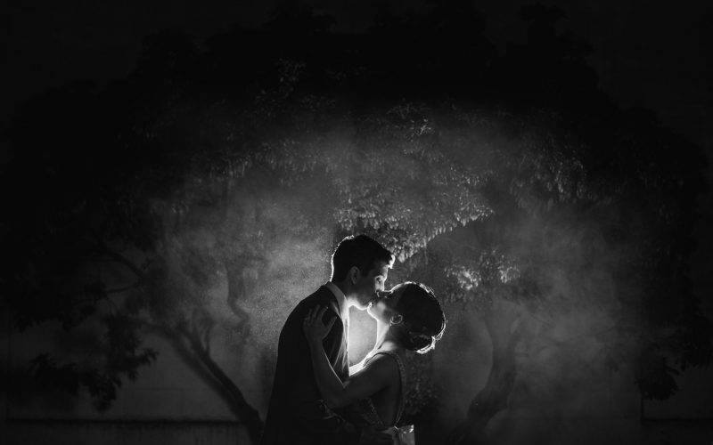 Vancouver Wedding Photographer Night Portrait