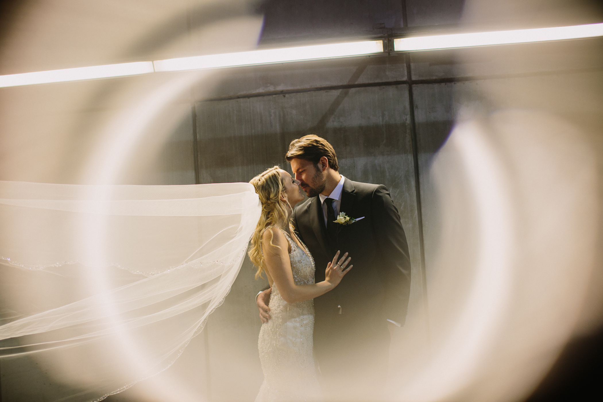 Bride and Groom Ring Flare