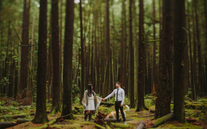 Pacific Spirit Park Elopement | Preview