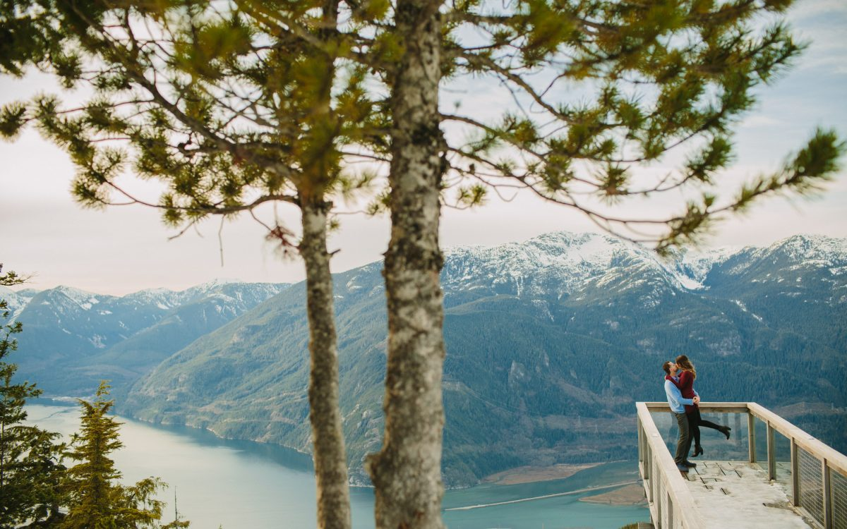 Sea to Sky Gondola Engagement Session