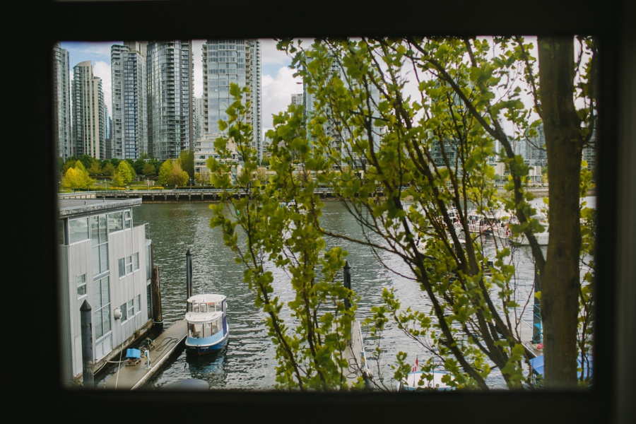 View from Granville Island Hotel