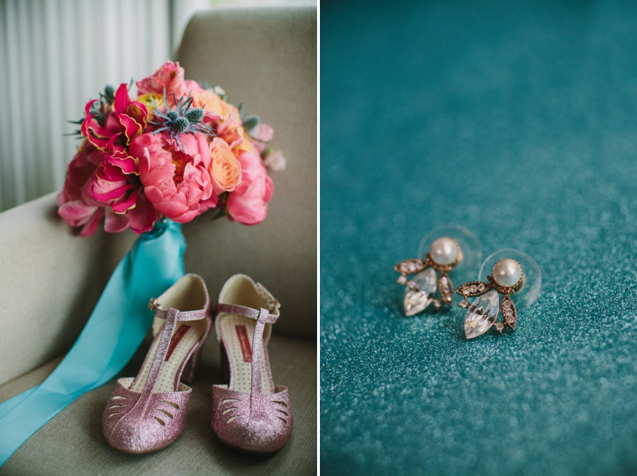 Science World Wedding Bridal Details