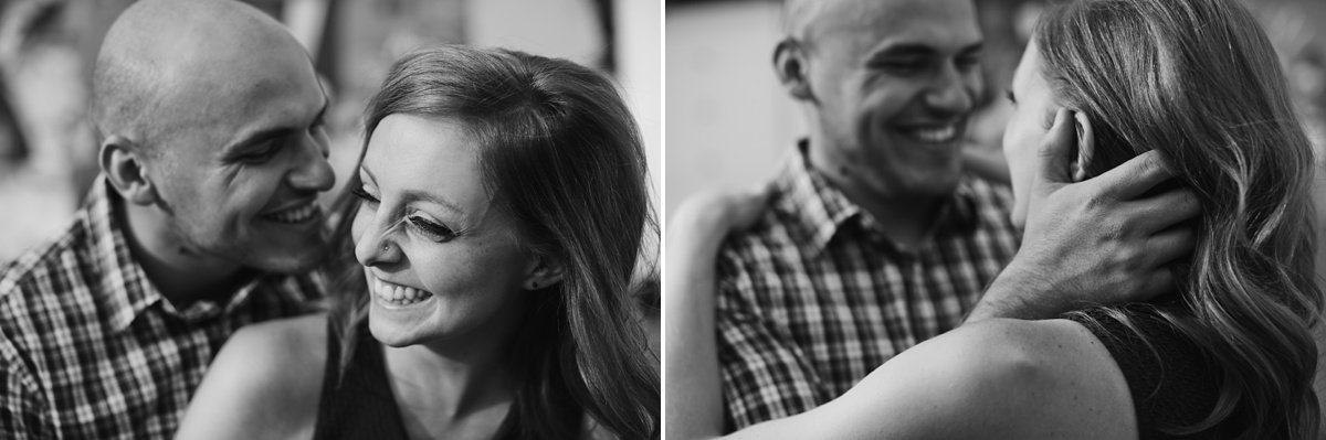 Candid Black and White Portraits in Vancouver