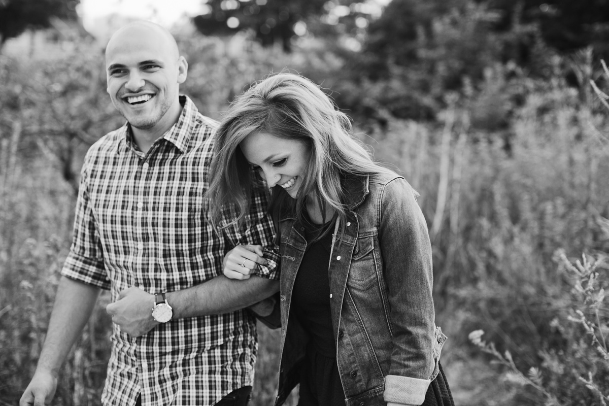 Candid Vancouver Engagement Session