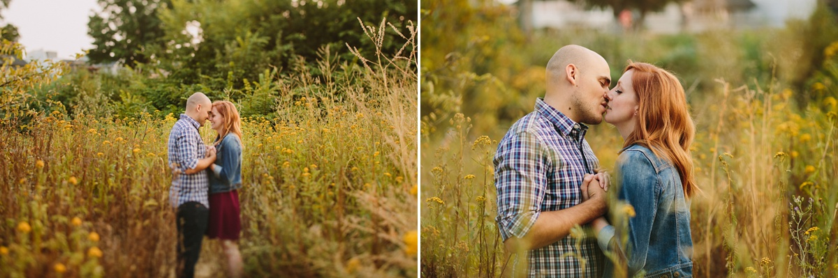 BC Engagement Portraits in Field