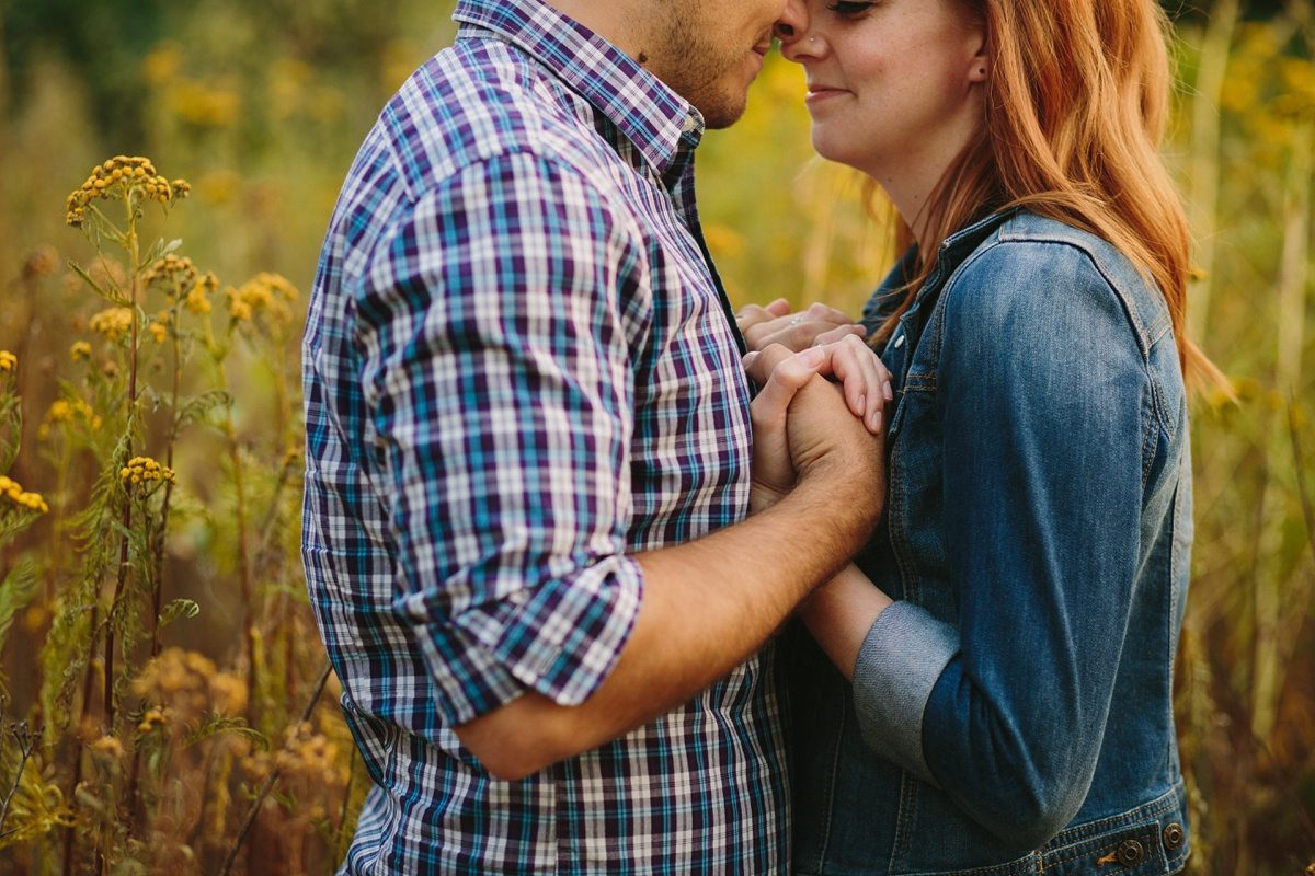 Detail Photo at Vancouver Engagement Session