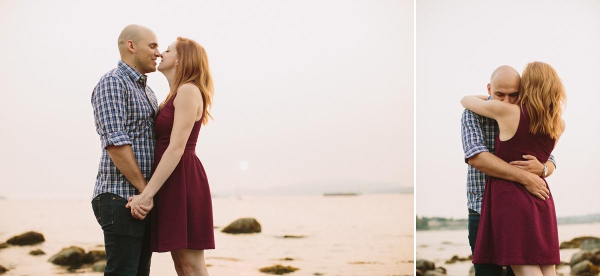 Pre Wedding Portraits at Kits Beach