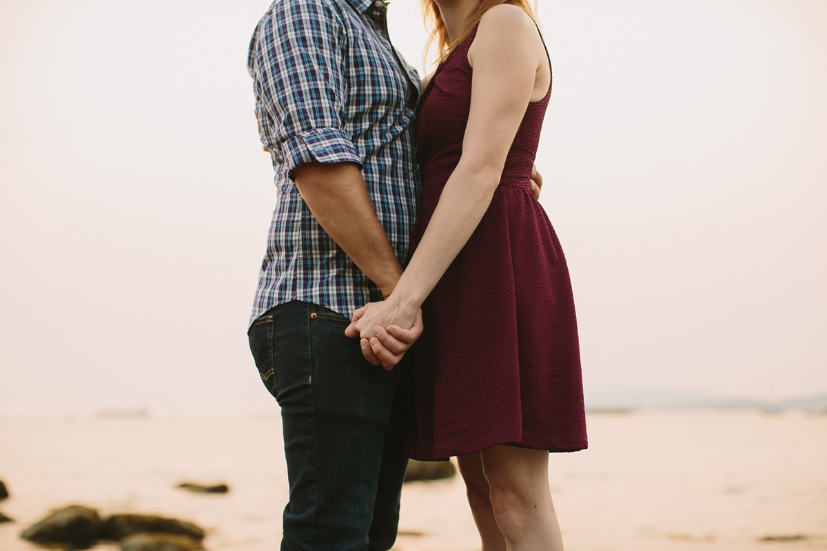 Engagement Photo Session at Kitsilano Beach