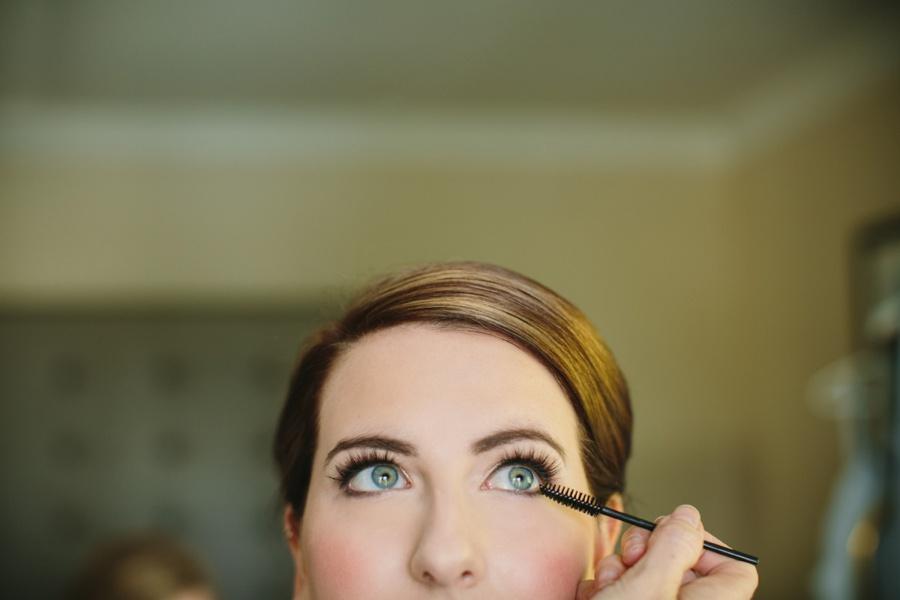 Denise Elliott Applying Makeup