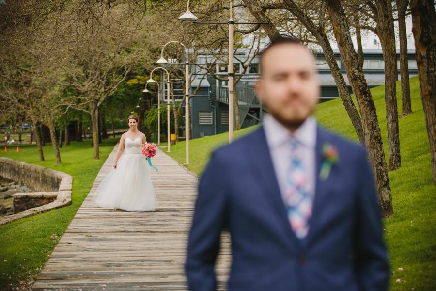Granville Island Wedding First Look
