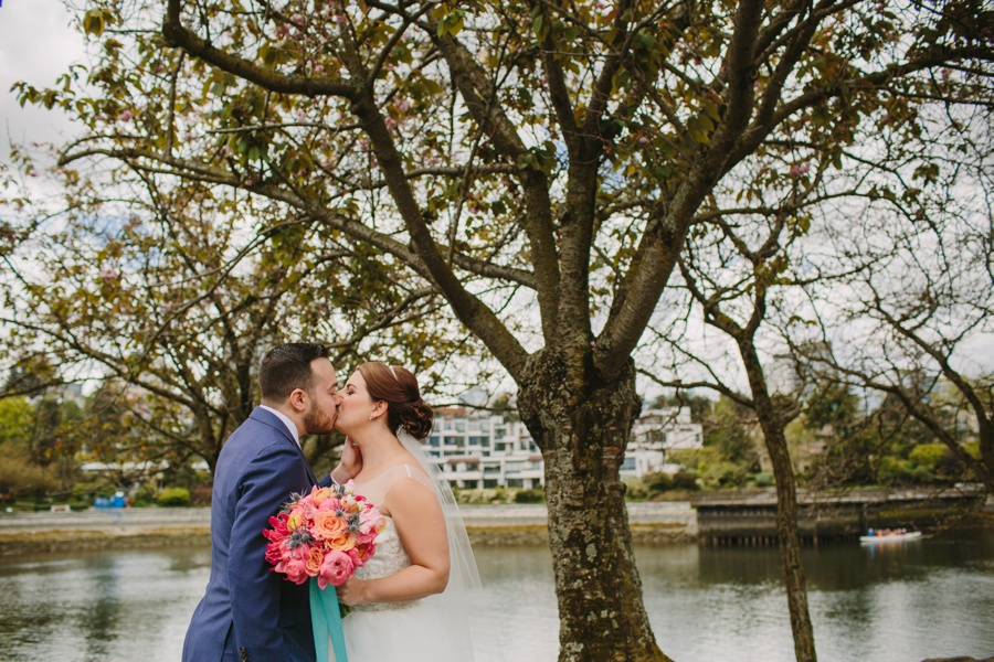 Granville Island Bride and Groom Portraits