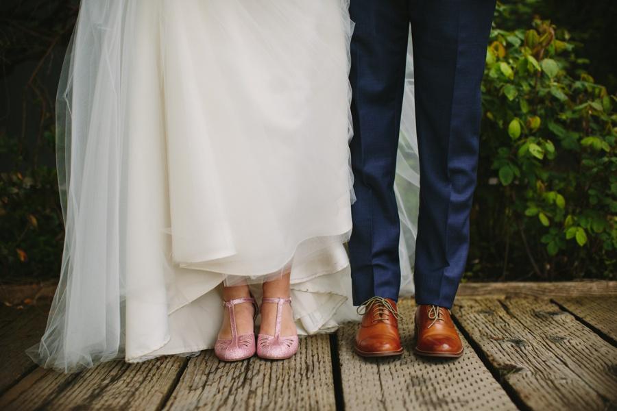 Science World Wedding Bride and Groom Details