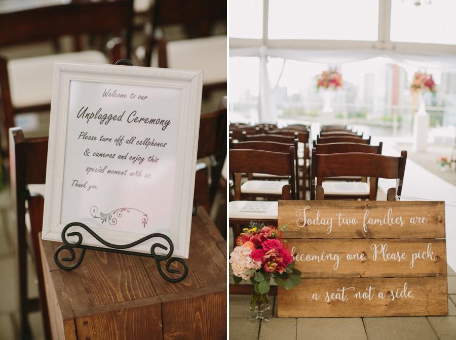 Science World Wedding Details