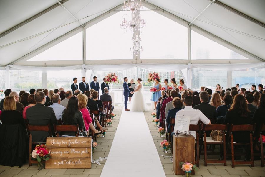 Vancouver Science World Wedding Ceremony