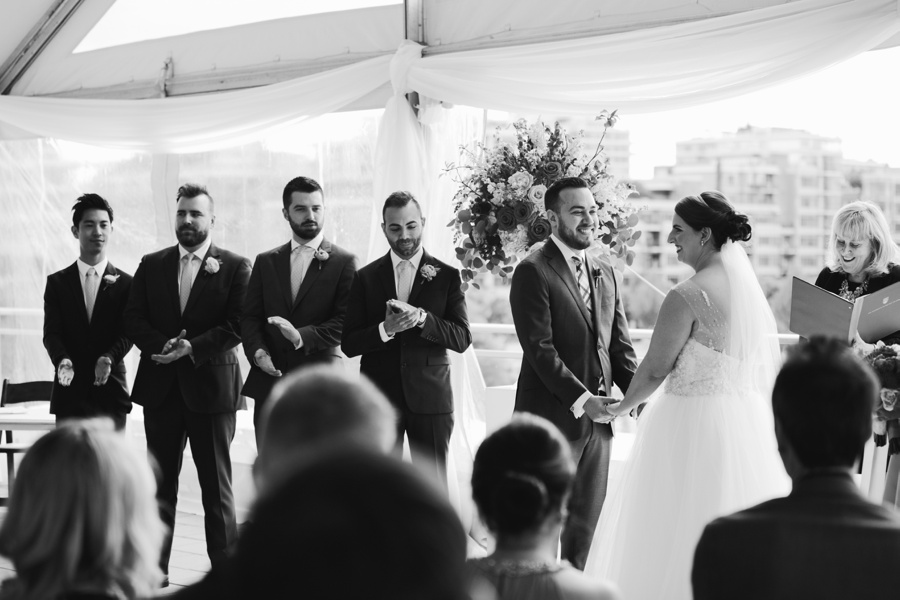 Candid Wedding Ceremony in Vancouver