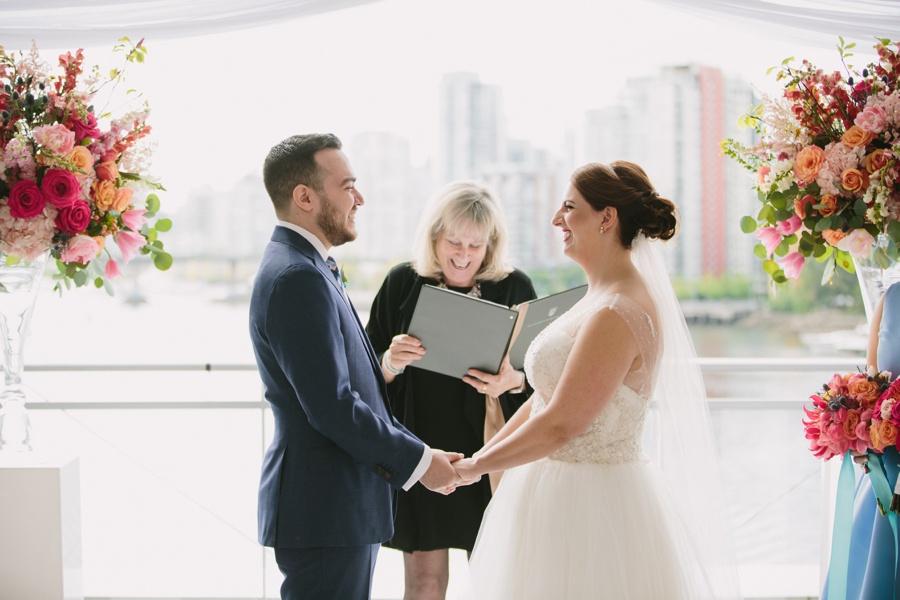 Science World Vancouver Wedding Ceremony