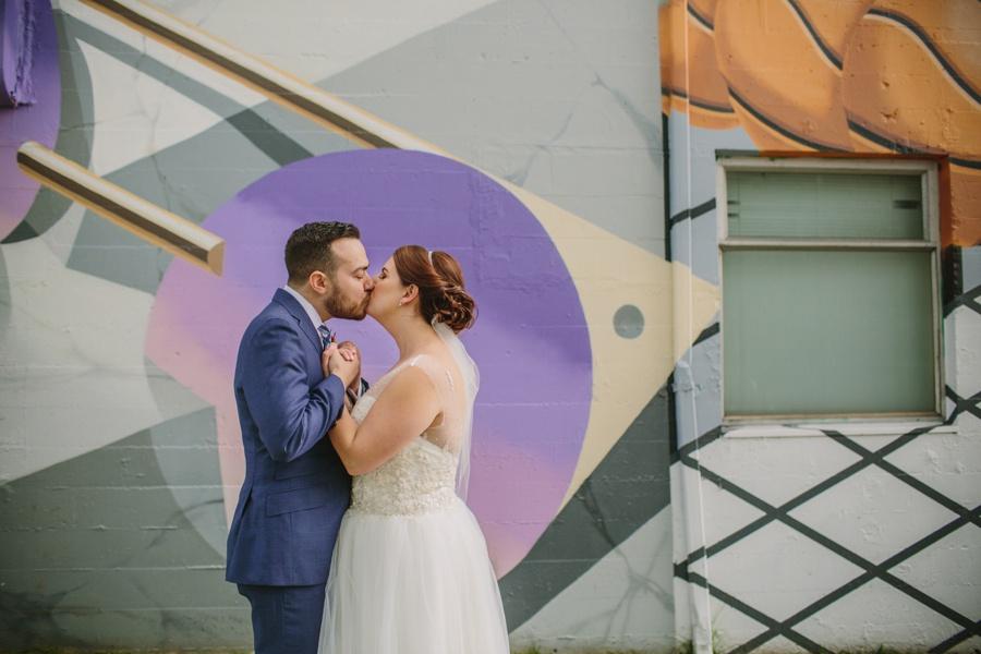 Vancouver Mural Festival Wedding