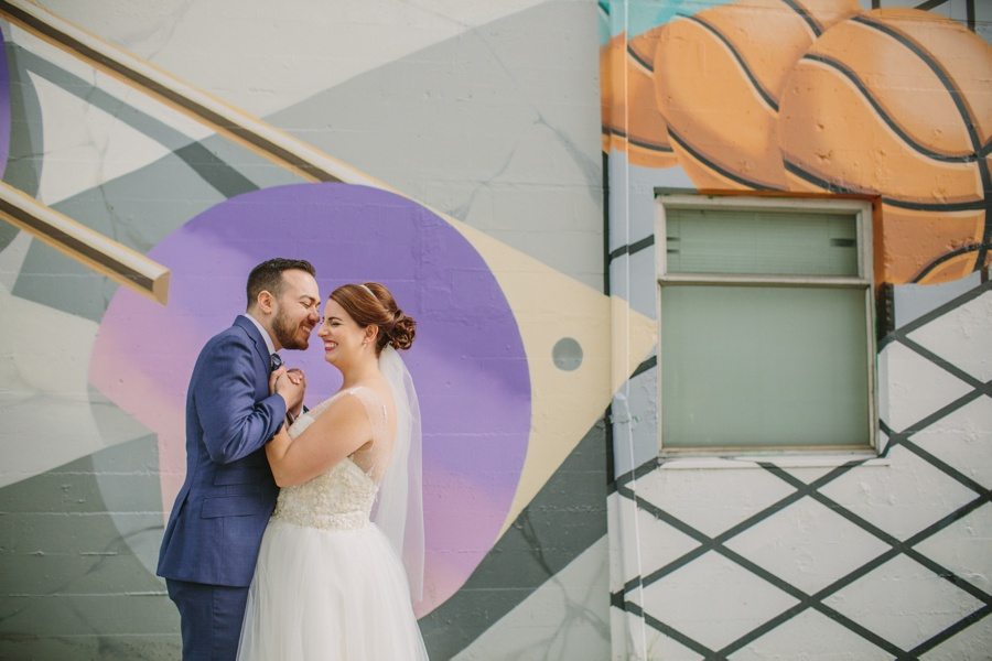 Vancouver Wedding with Murals